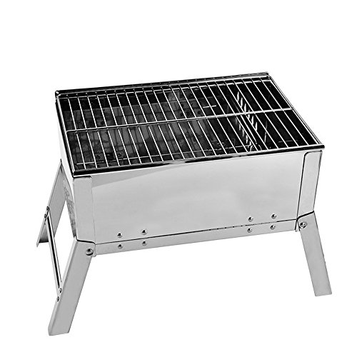 Parilla Hecho del Acero Inoxidable for la Estufa Plegable portátil del BBQ...