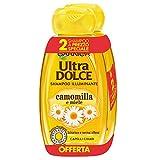 Garnier Ultra Dolce Shampoo aus Camomilla und Miele für Chiari Haare, ohne Parabene Extrakt, 300 ml, 3 Packungen mit 2 Packungen