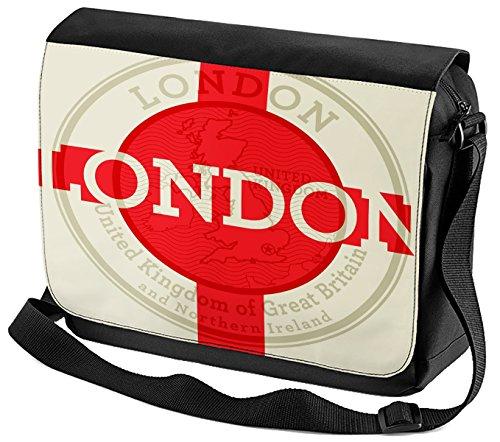 Bandoulière Voyage Cuisine Londres imprimées