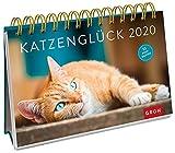 Katzenglück 2020: Postkarten-Kalender mit separatem Wochenkalendarium -
