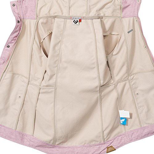 Ragwear Damen Übergangs Outdoorjacke Enrica (vegan hergestellt) Pink Gr. L - 4