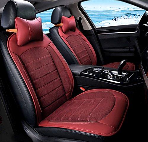 DIELIAN Sitzauflage Für Autositz, 3 Kühl-Stufen - Schnelles Abkühlen, Angenehmes Dauerkühlen, Anschlussfertig Für 12-Volt Zigarettenanzünder (1 Stück),Red