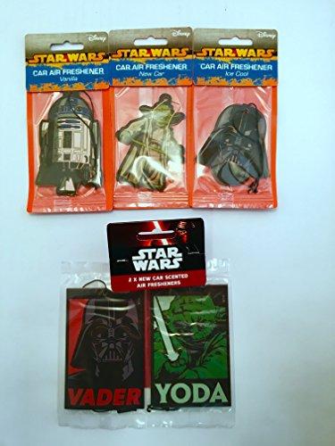 Star Wars - Confezione di 4 personaggi deodorant