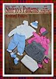 Knitting Pattern - KP43 - Girl and  Boy, Matinee Jacket, Trousers, Dress, hats, Booties - 0-3mths - UK Terminology