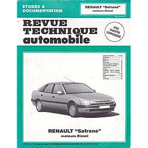 Revue technique de l'Automobile numéro 561.1 : Renault Safrane diesel