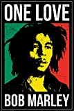 Pyramid International Poster Bob Marley One Love, Papier Glacé 150g, Multicolore, 61x91,5cm