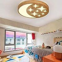 360mm LED Lampe einfach m/ännliche M/ädchen Kinder Zimmer Lampe Sterne Mond Decke Deckenleuchten 500
