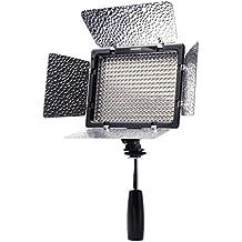 Yongnuo YN300-II - Foco para cámaras DSLR (control remoto, 300 LED, 4 filtros, 3200-5500 k)