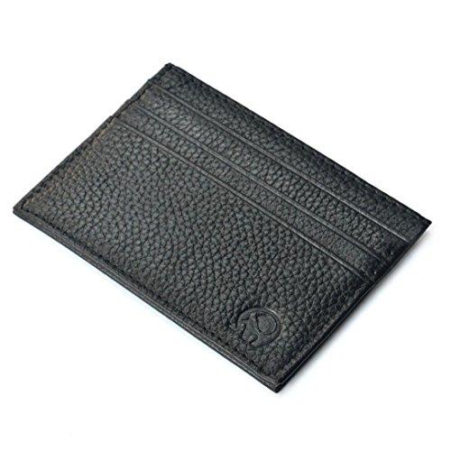 Susenstone Slim Kreditkartenhalter Mini-Portemonnaie ID Kasten-Geldbeutel -Beutel-Beutel (Die 5-tage-beutel Test)