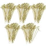 COM-FOUR® Brochetas Fingerfood hechas de madera de bambú