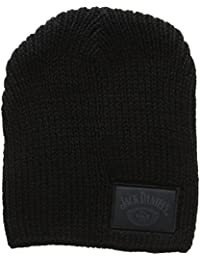 JACK DANIELS Woven with Label Beanie Hat