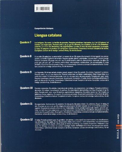 Quadern Llengua catalana 7 cicle mitjà Competències bàsiques - 9788447924004
