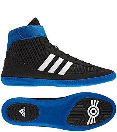 adidas Combat Speed 4 IV Wrestling Shoes Wrestling Shoes Wrestling - Black, 49 1/3 EU
