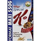Spécial K Pétales De Riz Et De Blé Complet Aux Feuilles De Choco Lat Au Lait. - ( Prix Par Unité ) - Envoi Rapide...