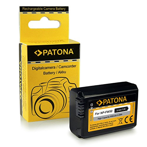 Bateria NP-FW50 para Sony NEX-C3 | NEX-F3 | NEX-3 | NEX-3A | NEX-3D | NEX-3K | NEX-3N | NEX-5 | NEX-5A | NEX-5D | NEX-5H | NEX-5K | NEX-5N | NEX-5R | NEX-5T | NEX-6 | NEX-7...