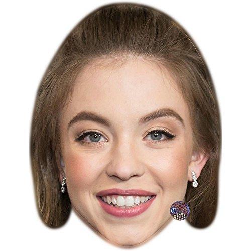 Celebrity Cutouts Sydney Sweeney Maske aus Karton