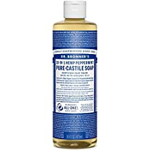 Dr. Bronner's Magic Soaps Peppermint Pure Castile Soap by Dr. Bronner's Magic Soaps