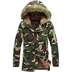 Roiper Homme Tactique Camouflage Veste Softshell Automne Hiver Outdoor Armée Militaire Polaire Doublée Blouson Imperméable Coupe A Capuche Randonnée Chasse Manteau