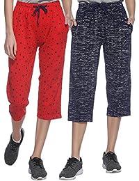 Shaun Women's Cotton Capris