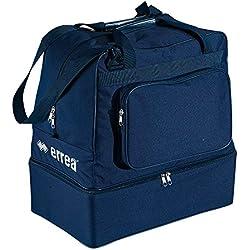 Bolsa grande de deporte con compartimento para zapatillas, color azul marino, tamaño talla única