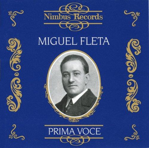 Miguel Fleta : Airs d'opéras & mélodies