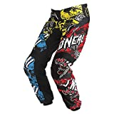 Oneal Element Wild Kinder Motocross Hose Enduro Offroad Cross Quad Mx Sx Dh Fr Schwarz Rot Gelb Blau (22)