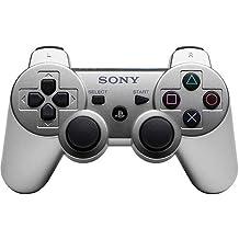 Sony - Mando Inalámbrico Dual Shock 3, Color Plata (PS3)