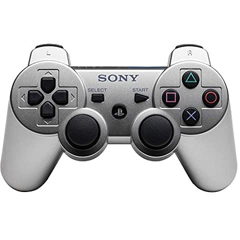 Manette PS3 Dual Shock 3 - argente
