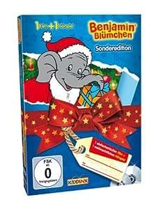 """Benjamin Blümchen - Weihnachts-Special (DVD: """"Benjamin Blümchen und der Weihnachtsmann"""" + CD: """"Weihnachten im Zoo"""")"""