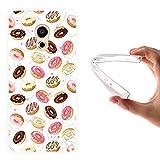 Meizu Pro 6 Hülle, WoowCase Handyhülle Silikon für [ Meizu Pro 6 ] Donuts Handytasche Handy Cover Case Schutzhülle Flexible TPU - Transparent
