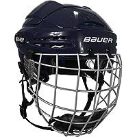 Bauer Helm 5100 Combo (incl. Gitter), Farbe:Weiss;Größe:M = 55cm - 60cm