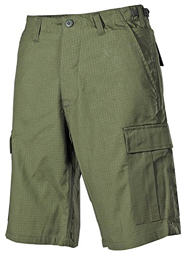 MFH US Army Typ BDU Bermuda Shorts, Baumwolle Rip-Stop-Cotton Gr. Medium, olivgrün -