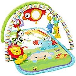 Gimnasio para beb/é Manta de Juegos para beb/és, Multicolor, Ni/ño//ni/ña, Interior, 85 cm, 850 mm Fehn 078220