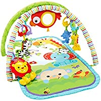 Fisher-Price - Gimnasio musical animalitos - gimnasios bebe - (Mattel CHP85)