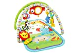Fisher-Price Gimnasio musical animalitos de la selva, manta de juego bebé...