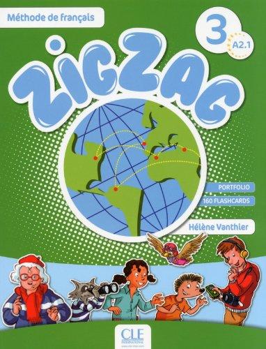 ZigZag 3 - Niveau A2.1 - Livre + CD