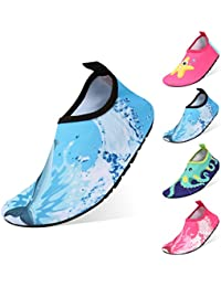 LILICAT/_Schuhe Outdoor Sport Barfu/ßschuhe Schnell Trocknend Badeschuhe Sommer Strand Aquaschuhe Mesh Slip On Wasserschuhe f/ür Damen Herren