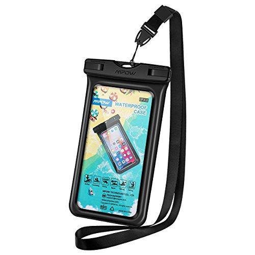 Wasserdichte Schwimmende Handytasche, Mpow Wasserdichte Handytasche, Handyhülle Beutel Tasche, wasserfeste Handyhuelle,Staubdichte Schützhülle für iPhone X/8/7/6/6s/6splus/Galaxy S9/S8/S7/S7edge/S6/S6 edge/S5,Huawei P10/P8/P9
