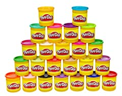 Idea Regalo - Play-Doh - Mega Pack da 24 Vasetti, 20383F03, Esclusiva Amazon