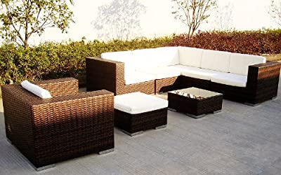 Baidani Rattan Sitz-Garnitur Garden-Dream, 21-teilig