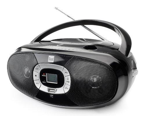 Dual P 390 Boombox mit Radio und CD-Player
