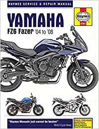 Yamaha Fz6 Fazer 04 08 Haynes Service And Repair Manual Mather Phil Fremdsprachige Bücher