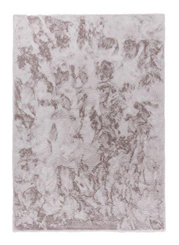 Schöner Wohnen Tender Kunstfell-Teppich 150x80 Taupe