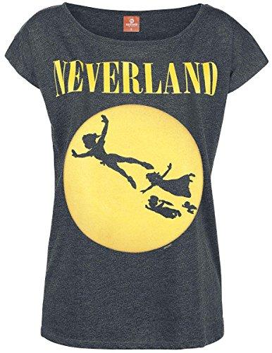 peter-pan-tinker-bell-neverland-seattle-girl-shirt-dunkelgrau-meliert-m
