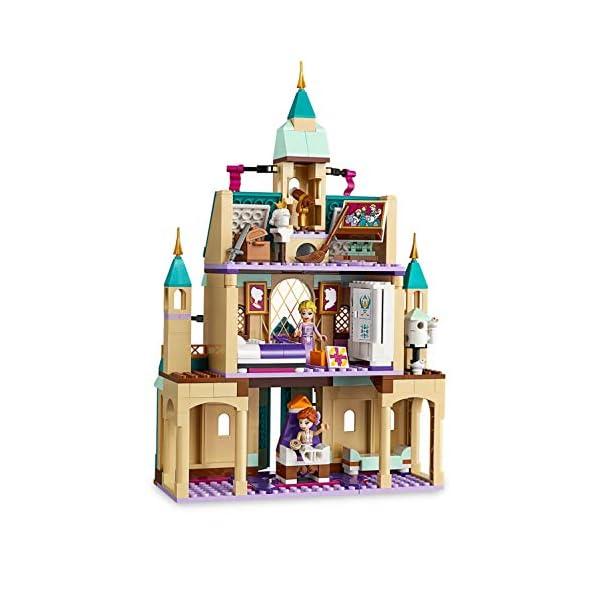 LEGO DisneyFrozenII IlvillaggiodelCastellodiArendelle con Mini-doll della Principessa Anna, Elsa e Kristoff,Mercato e Barca a Remi,Gatto e 2 Uccelli,Set di Costruzioni per Bambini, 41167 4 spesavip