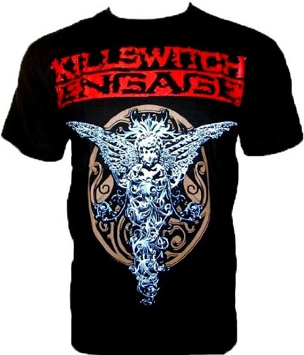 killsw Itch Engage Maglietta Fan Hirt Nero Black Gr S - Indiano Dagger