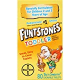 Best Toddler Vitamin - Flintstones Toddler Chewable, 80 Count Review