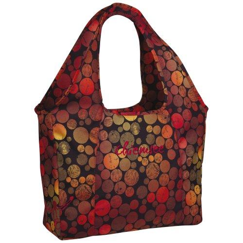 Chiemsee Handtasche Beachbag DOTS BLACK