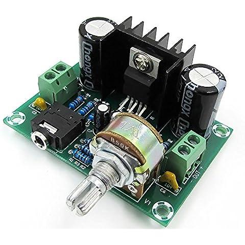 Kissing U TDA2030A 18W Mono Audio Stereo Power Amplifier Junta DC / Amplificadores Junta de Control de Módulo de Amplificación de alta Potencia