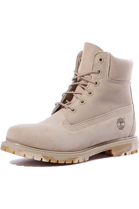 llegar fuego cómodo  Timberland AF A148U - Botas de cordones para mujer (6 pulgadas,  impermeables), color Beige, talla 38 EU: Amazon.es: Zapatos y complementos
